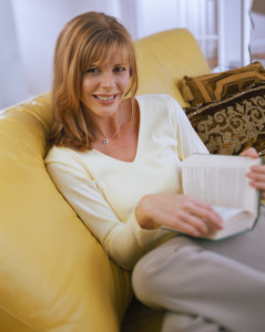 Relaxed and Happy after a quick home sales service